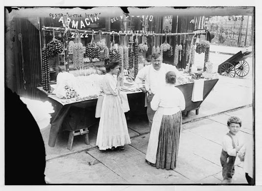 IMAGE Bronx in Little Italy US Library of Congress Prints and Photographs Division